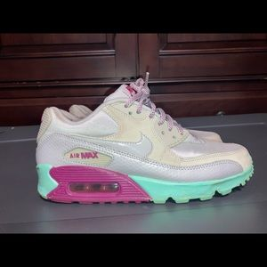 Nike AIR MAX 90 'SOFT PINK' wmns sz 7.5